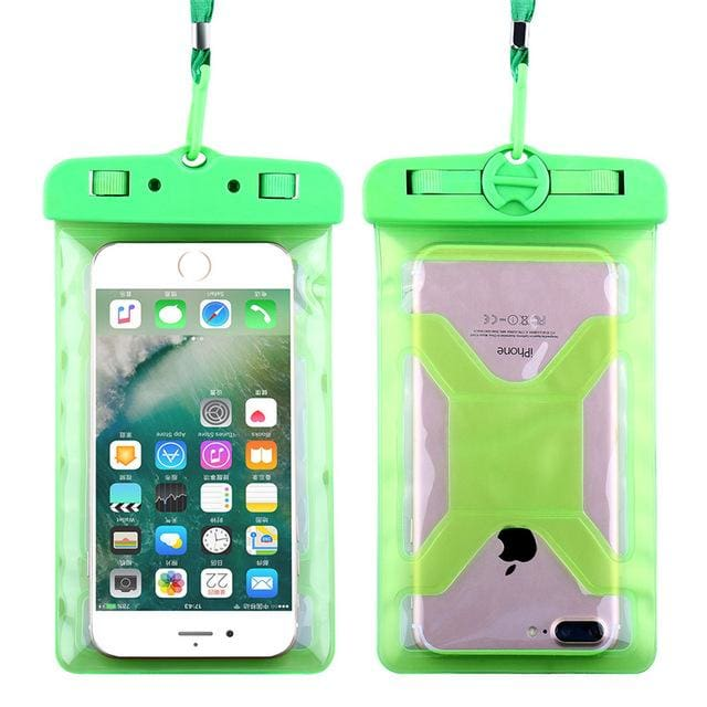 Floveme Universal Ipx8 Waterproof Case For Iphone X 8 Plus Swimming Phone Case For Samsung Galaxy S8 Green
