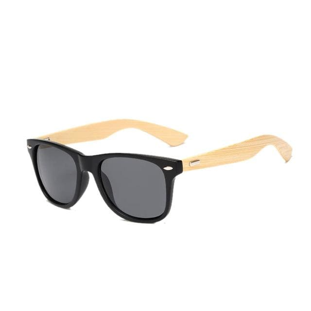 FOENIXSONG Brand New Designer Womens Sunglasses Bamboo Grain Frame Sun Glasses for Men Oculos de sol - MBMCITY