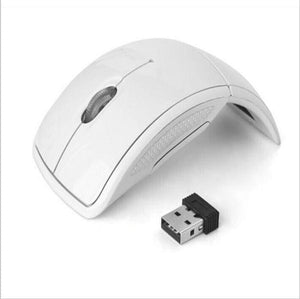 Foldable 2.4Ghz Wireless Mouse Mouse For The Pc Computer Mouse Foldable Folding Mouse/mice + Usb 2.0 White