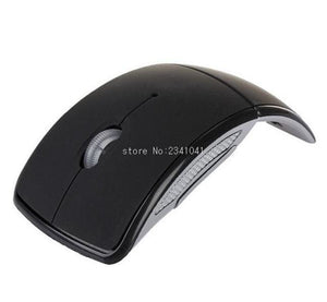 Foldable 2.4Ghz Wireless Mouse Mouse For The Pc Computer Mouse Foldable Folding Mouse/mice + Usb 2.0 Black