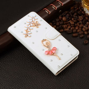 For Xiaomi Mi Max Case Luxury 3D Rhinestone Hand-Made Cover For Xiaomi Mi Max Leather Phone Cases A5