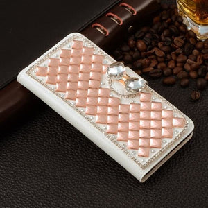 For Xiaomi Mi Max Case Luxury 3D Rhinestone Hand-Made Cover For Xiaomi Mi Max Leather Phone Cases C2