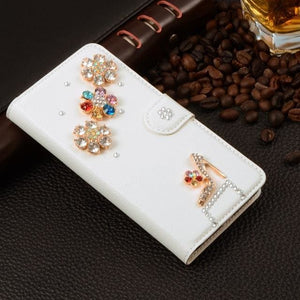For Xiaomi Mi Max Case Luxury 3D Rhinestone Hand-Made Cover For Xiaomi Mi Max Leather Phone Cases A8