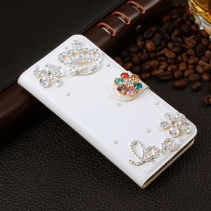 For Xiaomi Mi Max Case Luxury 3D Rhinestone Hand-Made Cover For Xiaomi Mi Max Leather Phone Cases B3