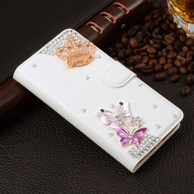 For Xiaomi Mi Max Case Luxury 3D Rhinestone Hand-Made Cover For Xiaomi Mi Max Leather Phone Cases B1