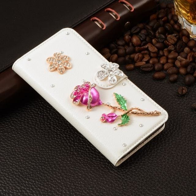 For Xiaomi Mi Max Case Luxury 3D Rhinestone Hand-Made Cover For Xiaomi Mi Max Leather Phone Cases A1