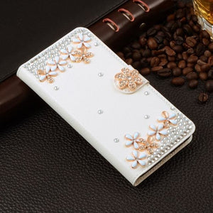 For Xiaomi Mi Max Case Luxury 3D Rhinestone Hand-Made Cover For Xiaomi Mi Max Leather Phone Cases A6