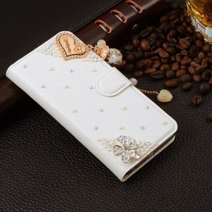 For Xiaomi Mi Max Case Luxury 3D Rhinestone Hand-Made Cover For Xiaomi Mi Max Leather Phone Cases A7