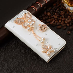 For Xiaomi Mi Max Case Luxury 3D Rhinestone Hand-Made Cover For Xiaomi Mi Max Leather Phone Cases A9