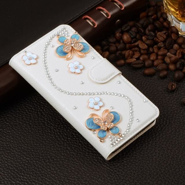 For Xiaomi Mi Max Case Luxury 3D Rhinestone Hand-Made Cover For Xiaomi Mi Max Leather Phone Cases A4