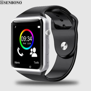 Free Shipping A1 Wristwatch Bluetooth Smart Watch Sport Pedometer With Sim Camera Smartwatch For