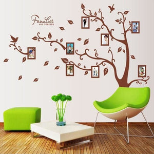 [Fundecor] 205*290cm/81*114in large photo tree Wall Stickers home decor living room bedroom 3d wall Multi