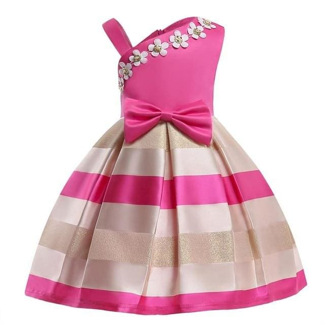 Girls Dress Summer Girl Floral Princess Party Dresses Children Clothing Wedding Tutu Baby Girl As Picture 19 / 2T