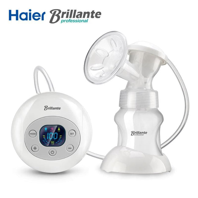 Haier Brillante USB Automatic Electric Breast Pumps BPA Free Powerful Large Suction Breast Pump - MBMCITY