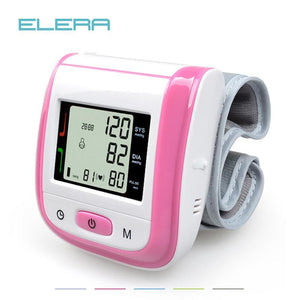 Health Care Automatic Wrist Blood Pressure Monitor Digital LCD Wrist Cuff Blood Pressure Meter - MBMCITY