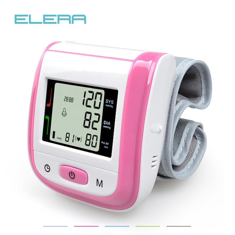 Health Care Automatic Wrist Blood Pressure Monitor Digital Lcd Wrist Cuff Blood Pressure Meter