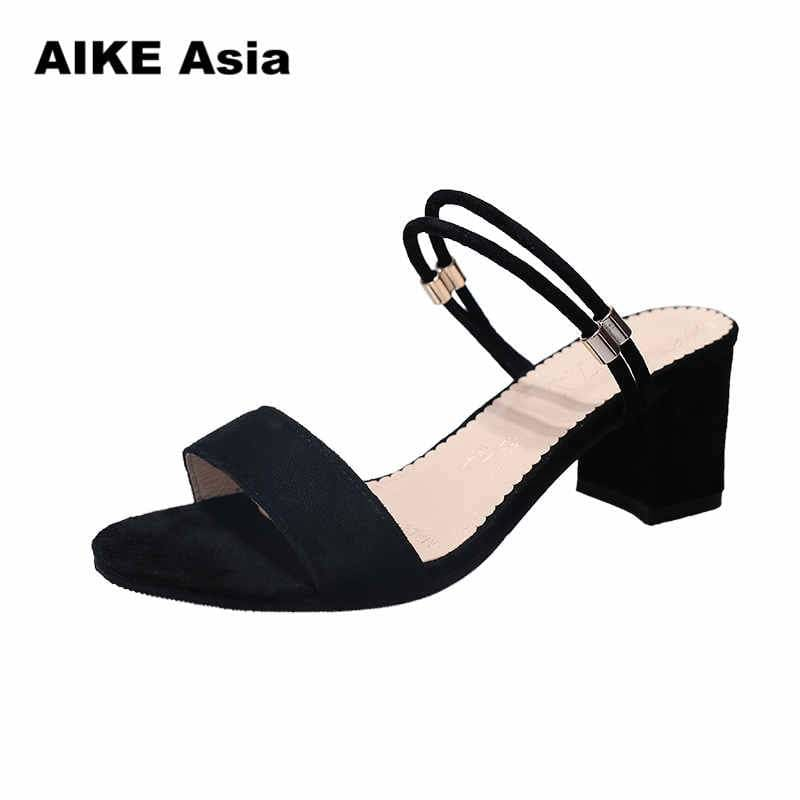 High Heels Shoes Women Fashion Shoes Sandals Pumps Summer Sexy Black Heels Ladies Shoes Casual Women