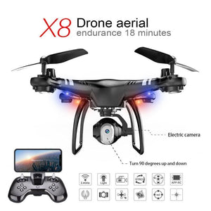 High Performance Drone Endurance 18 Minutes 360 Degree Rolling Altitude Hold 480P/720P Hd Camera Fpv