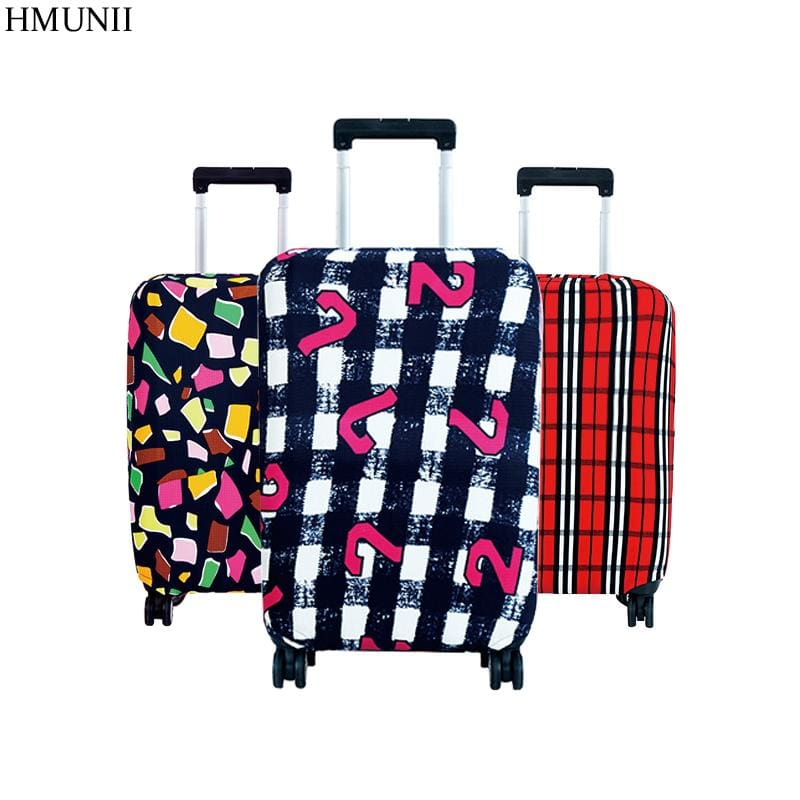 Hot Fashion Travel On Road Luggage Cover Protective Suitcase Cover Trolley Case Travel Luggage Dust