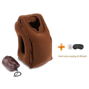Hot-Sale Newest Designed Travel Pillow Neck Pillow For Airplanes Car Sleeping/train/office Nap -- Coffee01