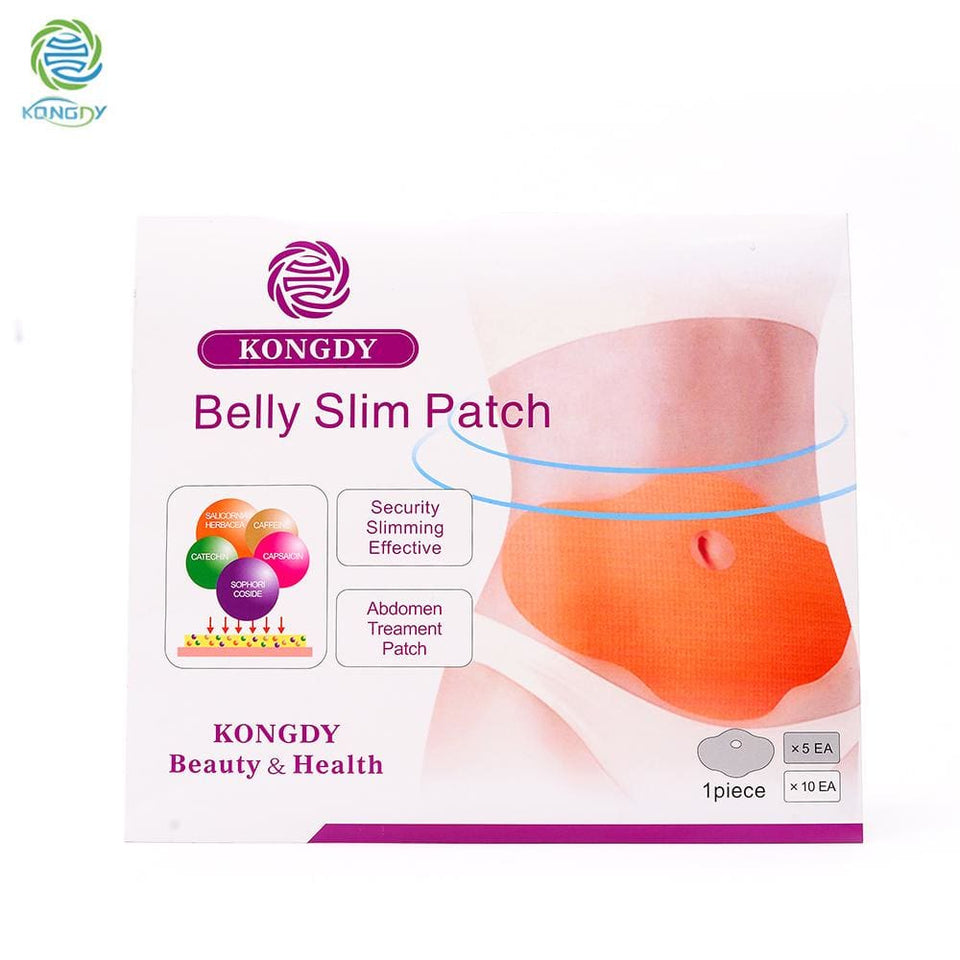 Hot Selling 5 Pieces/ Box Slimming Patch KONGDY New Belly Abdomen Weight Loss Fat burning Slim Patch - MBMCITY