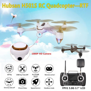 Hubsan H501S X4 5.8G Fpv Brushless Motor With 1080P Hd Camera Built-In Gps 2.4G 4Ch 6 Axle Gyro