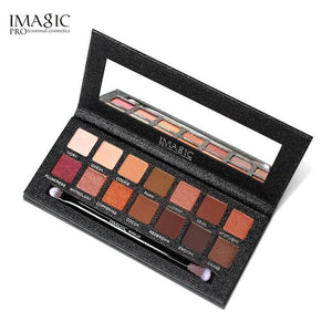 IMAGIC  Eyeshadow Palette 14 Colors Eyes Shimmer Matte Eyeshadow Makeup Light Eye Shadow Palette - MBMCITY