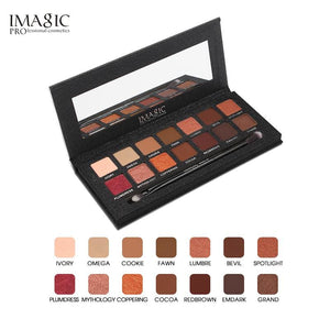 IMAGIC  Eyeshadow Palette 14 Colors Eyes Shimmer Matte Eyeshadow Makeup Light Eye Shadow Palette.