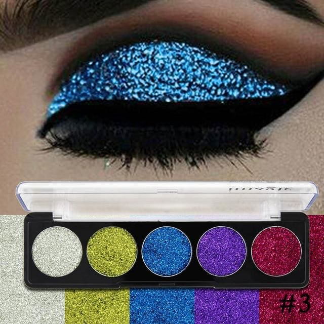 Imagic Glitters Eyeshadow Cosmetic Pressed Eyeshadow Diamond Rainbow Make Up Pressed Glitters Eye 3