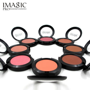 IMAGIC Makeup Cheek Blush Powder 8 Color blusher different color Powder pressed Foundation Face