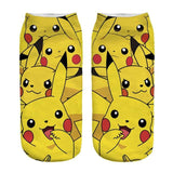 Kawaii Harajuku Pokemon Pikachu Socks 3D Printed Cartoon 1