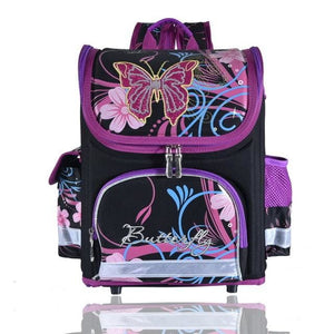 Kids school Backpack monster high butterfly winx  EVA FOLDED orthopedic Children School Bags for - MBMCITY