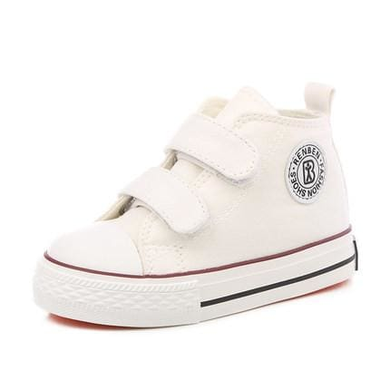 Kids shoes for girl children canvas shoes boys sneakers 2017 Spring autumn girls shoes White High - MBMCITY