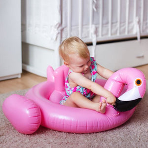 Kinsmirat Inflatable Flamingo Pool Float Circle Mattress Swimming Swan Swim Ring Seat Boat Raft
