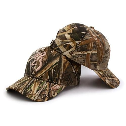 KOEP Browning Camo Baseball Cap Fishing Caps Men Outdoor Hunting Camouflage Jungle Hat Airsoft CAMBLN-RT2 / One Size Fits All