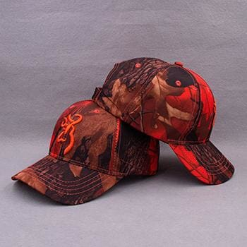 KOEP Browning Camo Baseball Cap Fishing Caps Men Outdoor Hunting Camouflage Jungle Hat Airsoft CAMBLN-RT5 / One Size Fits All