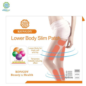 Kongdy Brand Lower Body Slim Patch 30 Pieces /box Leg Slim Pad Body Weight Loss Plaster Fat Burning