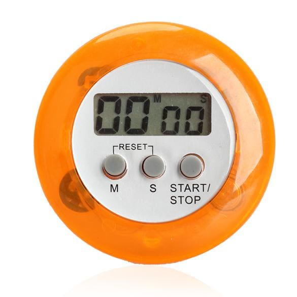 Lcd Digital Kitchen Countdown Magnetic Timer Back Stand Cooking Timer Count Up Alarm Clock Kitchen 4