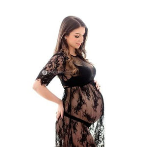 Le Couple Maternity Dresses Summer Maternity Photography Dress Lace Pregnant Women Dresses Fancy