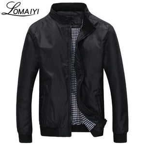 Lomaiyi Fashion Male Jacket Coat Men 2018 Spring Business Casual Clothes Summer Thin Windbreaker