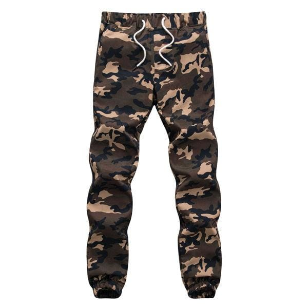 M-5X 2017 Mens Jogger Autumn Pencil Harem Pants Men Camouflage Military Pants Loose Comfortable - MBMCITY