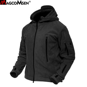 MAGCOMSEN Men Jackets Winter Warm Fleece Jackets Army Military Tactical Jacket and Coat Thermal