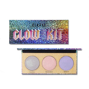 Maquiagem Professional 4 Colors Fashion Glitter Eyeshadow Palette Natural Nude Makeup Set Shimmer.
