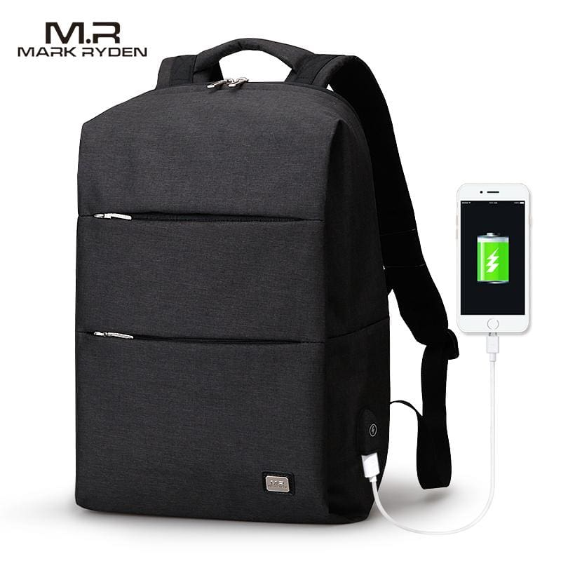 MarkRyden New Arrivals Men Backpack For 15.6inches Laptop Backpack Large Capacity Casual Style Bag - MBMCITY