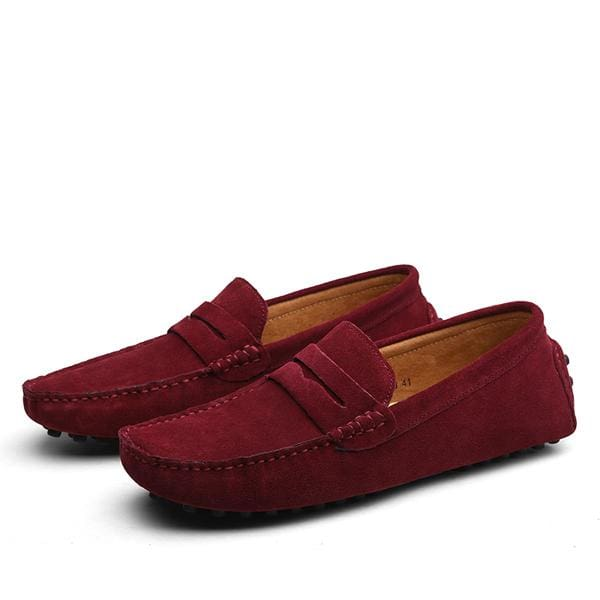 Men Casual Shoes 2017 Fashion Men Shoes Leather Men Loafers Moccasins Slip On Men's Flats Loafers - MBMCITY