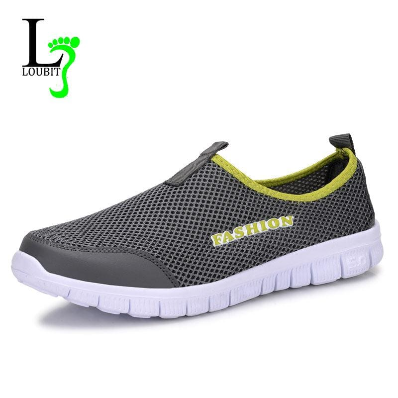 Men Shoes 2017 Summer Shoes Light Comfortable Men Casual Shoes Mesh Breathable Loafers Footwear Plus