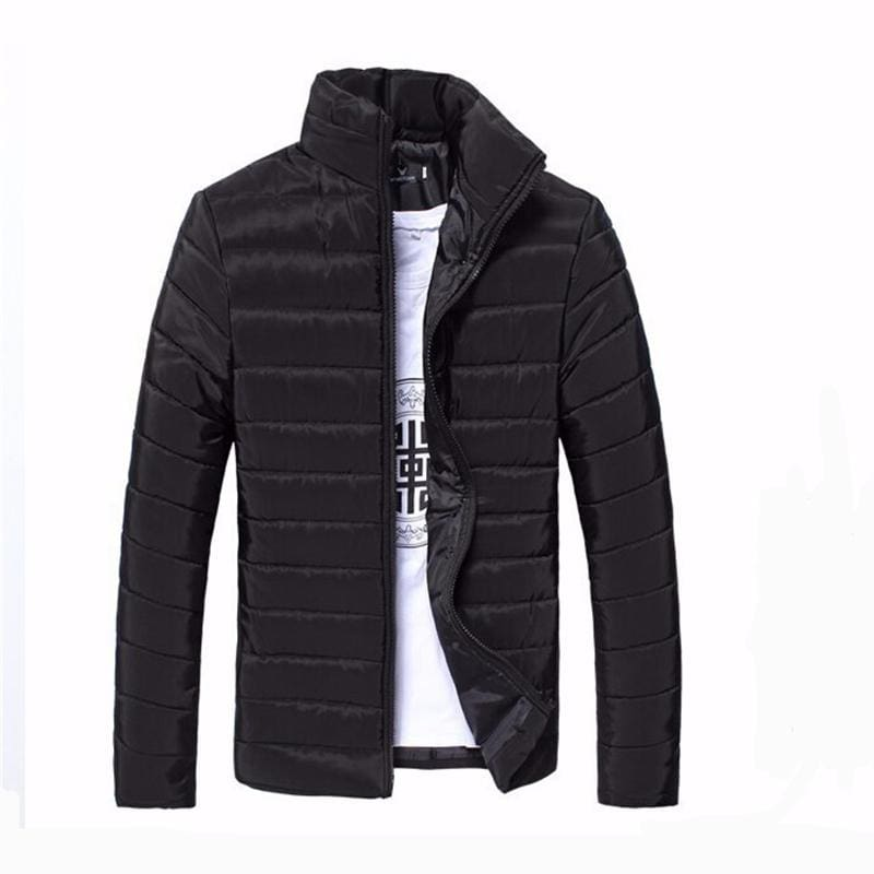 Mens Jackets And Coats Casual Jacket Men Clothes Cotton Denim Jacket Solid Zipper Coat Men Bomber
