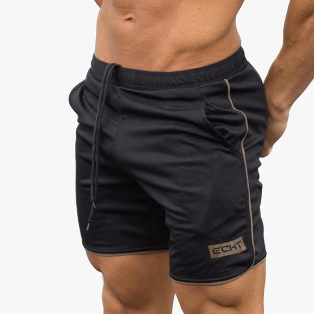 Mens summer new fitness shorts Fashion leisure gyms Crossfit Bodybuilding Workout Joggers male short C4 / M