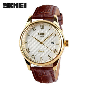 Mens Watches Top Brand Luxury Quartz Watch Skmei Fashion Casual Business Wristwatches Waterproof