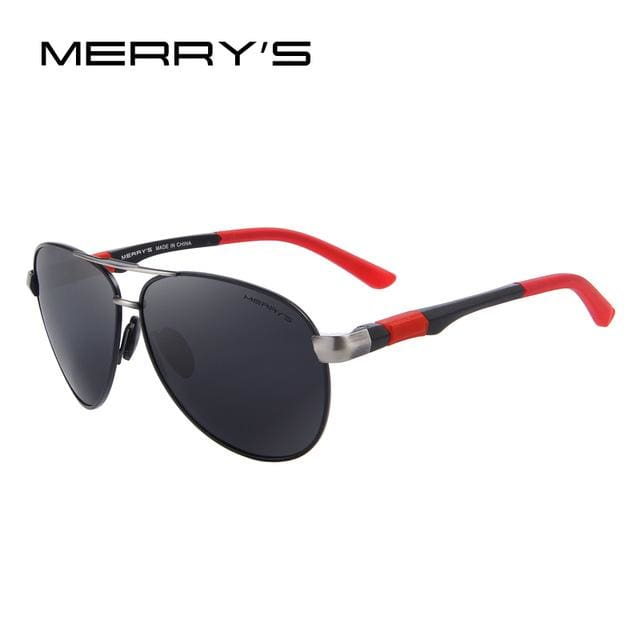 MERRY'S Men Brand Sunglasses HD Polarized Glasses Men Brand Polarized Sunglasses High quality With